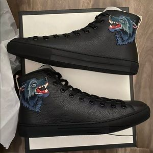 Gucci Major Angry Wolf Sneaker Men's 11.5US RARE